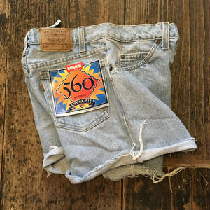 [DEAD STOCK / USED] 90's!560 DENIM ショーツ