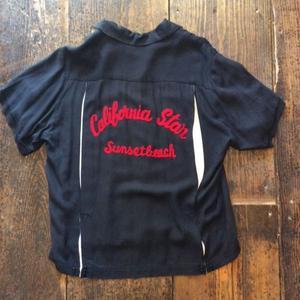 [USED] OLD レーヨンボウリングシャツ
