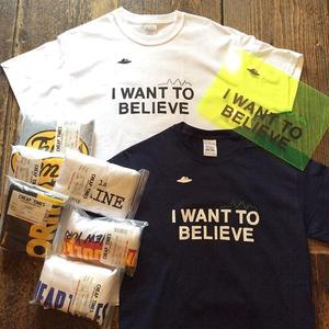 "[CHEAP TIME$] PackTee ""I WANT TO BELIEVE"""