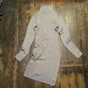 [USED] きらきらラメニットLong Dress