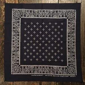 "[Naughty] ""NT"" cross BANDANA"
