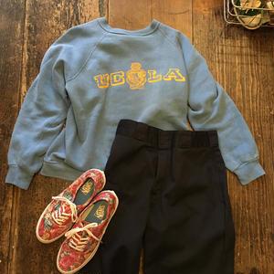 [USED] 60's Vintage UCLA プリントスエット