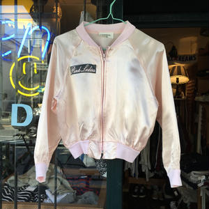 [USED] Pink Ladies サテンジャケット