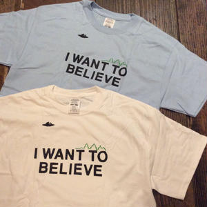 """[CHEAP TIME$] PackTee """"I WANT TO BELIEVE"""""""