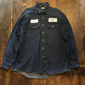 [USED] BIGサイズ  デニムシャツ