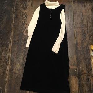 [USED] コーデュロイジャンパースカート