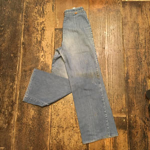 [USED] 80's Levis WIDE DENIM PANTS