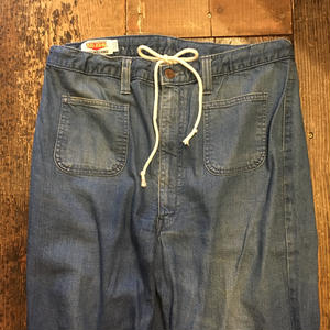 [USED] US NAVY type BIG JHON DENIM