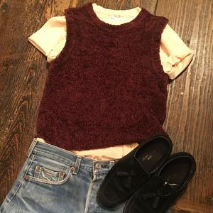 [USED] モコモコ Knit Best