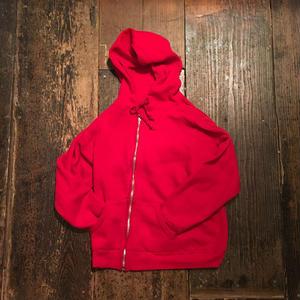 [USED] vintage リバーシブル風 真っ赤なパーカー