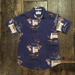 [USED] アメフト柄COTTONシャツ