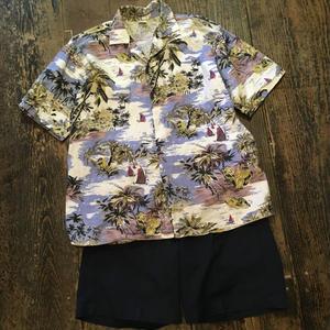 [USED] euro コットンアロハシャツ