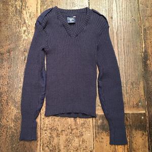 [USED] ネイビー ARMY Knit