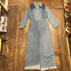 [USED] DENIM jump suit