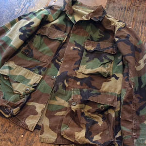 [USED] US CAMO ARMY JACKET