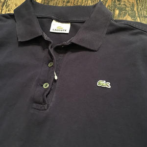 [USED] LACOSTE ポロ Navy