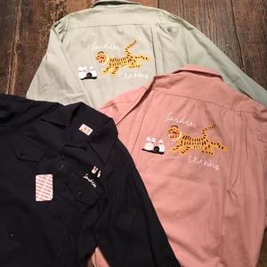 [I&ME]  L/S Bowling Shirts
