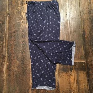 [USED] ペイズリー柄 パジャマパンツ
