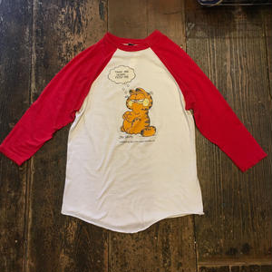 [USED]vintage GARFIELD ラグランTee