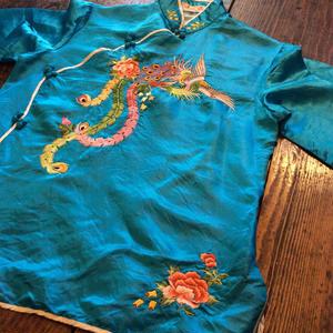 [USED] vintage チャイナシャツ