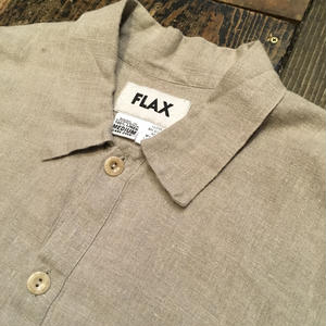 [USED] FLAX 100%LINEN シャツ