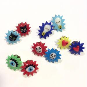[BENICOTOY] ぷっくり  PINS