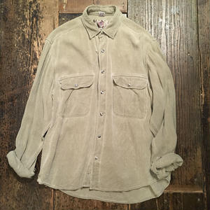 [USED]  SILK WORKシャツ