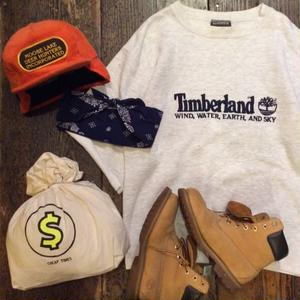 [USED] Timberland CUT OFF SWEAT