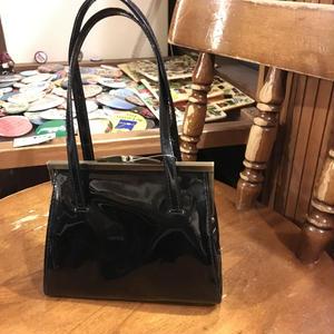 [USED]  エナメル HAND BAG