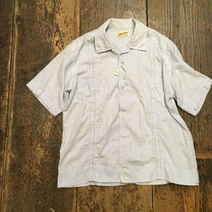 [USED] 淡い水色 キューバシャツ