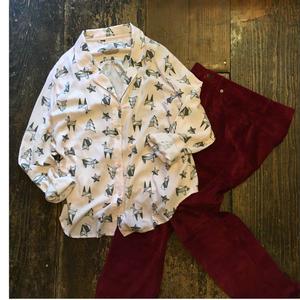 [USED] xhilarationパジャマシャツ