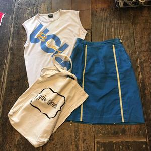 [USED] 鮮やかブルー☆タイトスカート