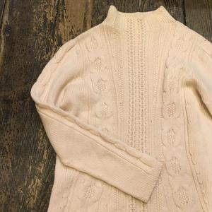 [USED] パステルピンクのハイネックセーター