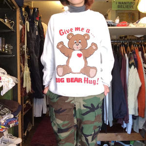 [USED] BIG BEARスエット