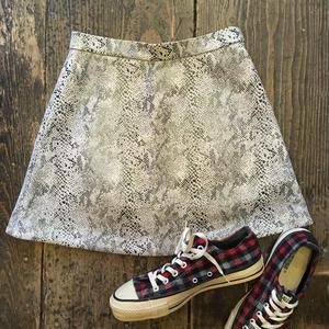 [USED] パイソン柄miniスカート