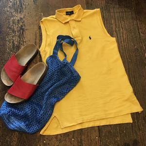 [USED]Ralph Laurenノースリーブ ポロシャツ