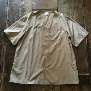[SELECT] US ノーカラーwork shirts DEADSTOCK