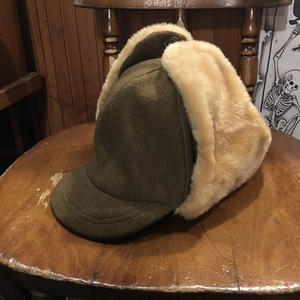 [USED] vintage  耳あて付きCAP