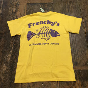 [USED] frenche's?? FISH BONE TEE