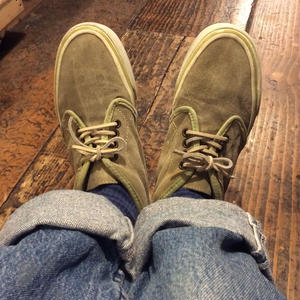 [USED] 90's VANS チャッカ made in U.S.A