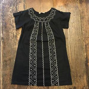 [USED] BLACK刺繍チュニック