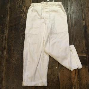 [USED] チェコ軍  コックパンツ WHITE