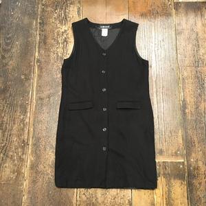 [USED] WOOL シンプル ジャンパースカート