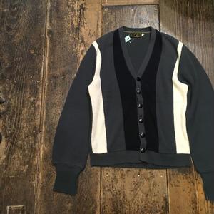 [USED] 渋い〜!ACRYLIC Knit Cardigan