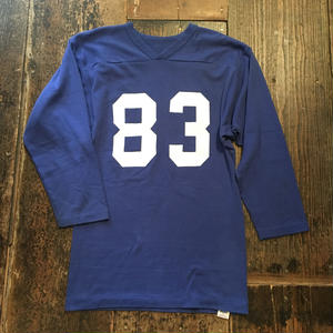 [USED]  80's  RUSSELL フットボールTee