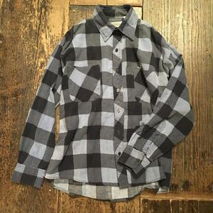 [USED] いい色ブルー コットンネルシャツ