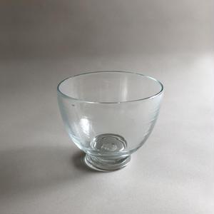 Hand-blown glass bowl