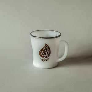FIREKING / Brown leaf mug