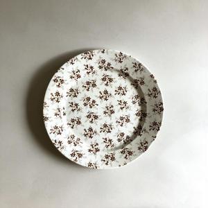 Sarreguemines / Flower plate