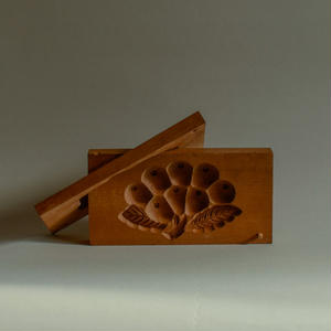 Japanese Wooden Confectionery mold
